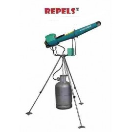 Electronic Propane Cannon With Rotary Tripod