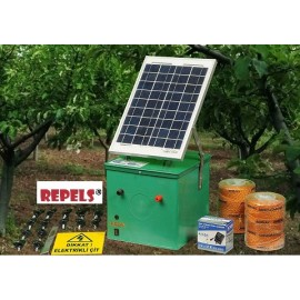 get rid of rock hyrax electric solar fence against wild boar